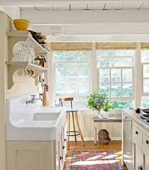 Farmhouse Kitchen Designs Photos Farmhouse Kitchen Designs With Open Shelves And Vintage Sink