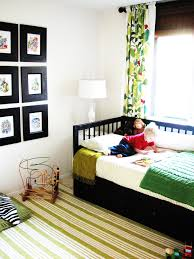twin xl bed frame kids eclectic with area rug bedroom bold colors