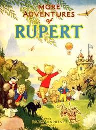 1947 rupert bear rupert annuals famous english bear