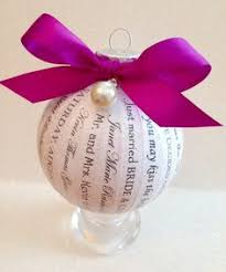 Wedding Ornaments Personalized Happy Thoughts By Kelly Wedding Ornaments Are A Unique And Elegant