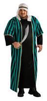 Unique Size Halloween Costumes Arab Sheik Arabian Mens Size Fancy Dress Halloween