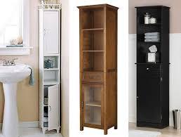 Slim Bathroom Cabinet Tall Slim Bathroom Cabinet With Amazing Narrow Cabinets 1 Storage