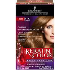 schwarzkopf keratin color anti age hair color cream 5 3 berry