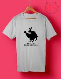 thanksgiving t shirts trend fashion stsr rabbit turkey thanksgiving t shirt