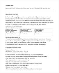 Resume Handling Sample Restaurant Resume 10 Examples In Pdf Word