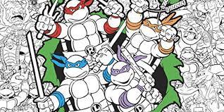 super cool ninja turtles coloring book free printable pages 224