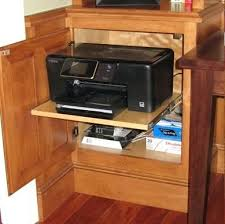 Printer Storage Cabinet Superb Printer Storage Cabinet Design Build Remodel Inc Page 2