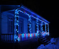 blue led icicle lights clearanceblue white