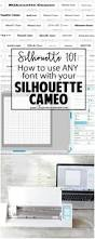 best 25 silhouette fonts ideas on pinterest silhouette cameo