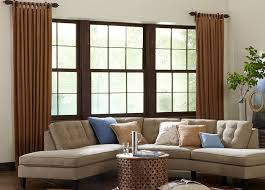 livingroom windows living room curtains family room window treatments budget blinds