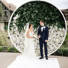 wedding backdrops diy diy string lights backdrop brides