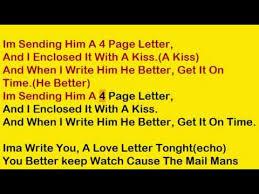 4 page letter lyrics mp3 download u2013 musicpleer