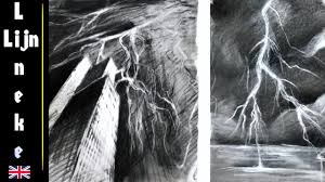 Drawing Lightning Art Tips And Tricks Graphite And Pencil Eraser