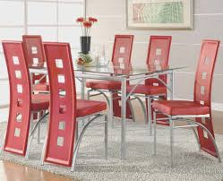 fun dining room chairs dining room top dining room chairs red wonderful decoration