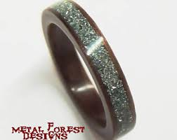non metal wedding bands crafted bentwood rings by metalforestdesigns on etsy