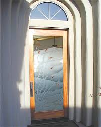 Frosted Glass Exterior Doors Decorative Frosted Glass Exterior Door Fantastic Frosted Glass