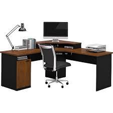Staples Computer Desks For Home Bestar Hton Corner L Shaped Home Office Computer Desk Tuscany