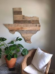 large state sign reclaimed wood pallet sign rustic home
