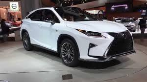 new lexus suv 2015 price the new 2016 lexus rx 350 f sports 360 view from new york auto