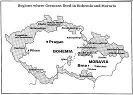 bohemia map who are the german bohemians german bohemian heritage society