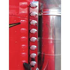 peterbilt air cleaner lights peterbilt 379 389 front air cleaner light bar with flatline amber