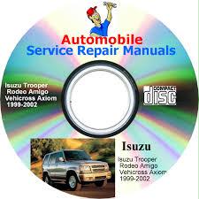 isuzu trooper rodeo amigo vehicross axiom 1999 2002 jpg