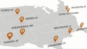 Sturgis Michigan Map by Aarp Events
