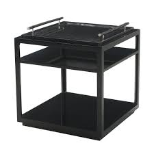 removable tray top table black lacquered tray top table trays georgian and pewter