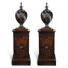 O Sullivan Furniture by 2972 Pair Of 18th Century Irish Adam Style Wine Coolers On