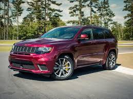 jeep specs 2018 jeep grand trackhawk specs roadshow
