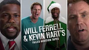 halloween horror nights audition will ferrell and kevin hart u0027s failed audition tapes from get hard and