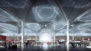 mir render grimshaw istanbulm new airport departures