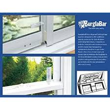 amazon com window security bars adjustable pack of 6 supplied