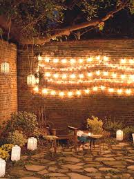 Outdoor Garden Lights String 10 Ways To Up Your Outdoor Space With String Lights Hgtv S
