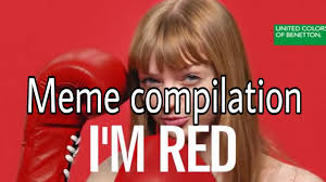 Funny Who Am I Memes - new funny i am red memes compilation united colors of benetton i