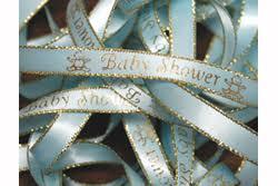 baby shower ribbon 15 00 per roll of baby shower preprinted ribbon