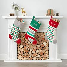 kids christmas stockings the land of nod