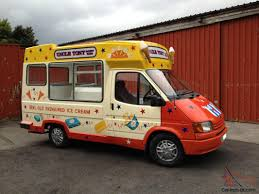 Vintage Ford Ice Cream Truck - whitby morrison ford transit ice cream van full mot