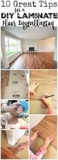 How To Install The Laminate Floor 10 Great Tips For A Diy Laminate Flooring Installation The Happy