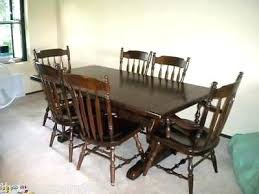 Maple Dining Room Table And Chairs Dining Table Maple Dining Room Table And 6 Chairs Sets Shaker