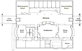building floor plan floor plan and capacity facilities grain science and industry