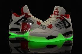 light shoes for mens hyper online nike air jordan 4 shoes mens night light grade aaa