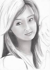 pencil sketches girls face pencil sketch ideas drawing art