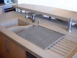 how to build a concrete sink diy concrete kitchen sink sink ideas