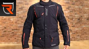 padded riding jacket alpinestars guayana gore tex motorcycle jacket product spotlight