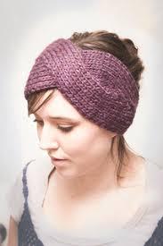 headband ear warmer ravelry parisian twist headband ear warmer pattern by elisa