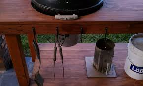 how to build a weber grill table grill table weber kettle texasbowhunter com community discussion