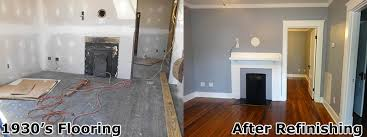 sanding and installing process denton s knoxville hardwood