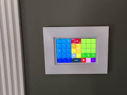 smarttiles wall mounted tablet example from erocm1231