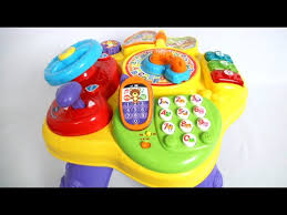 vtech table touch and learn magic star learning table from vtech youtube